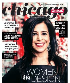 Chicago Woman Magazine Fall 2016 Women in Design Issue Featured Contributor - Ari Krzyzek