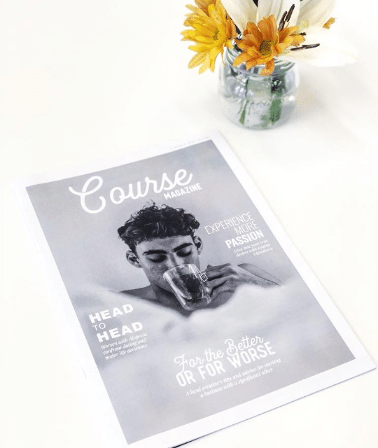 Course Magazine Inaugural Issue, 2018 Featured Contributor - Ari Krzyzek