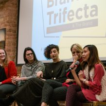 Ari Krzyzek Speaking at Creative Women's Co. The Branding Trifecta Panel